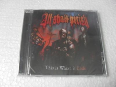 ALL SHALL PERISH - THIS IS WHERE IT ENDS (CD)