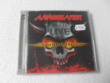 ANNIHILATOR - DOUBLE LIVE ANNIHILATION - DUPLO (CD)