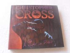 CHRISTOPHER CROSS - A NIGHT IN PARIS - TRIPLO (CD)