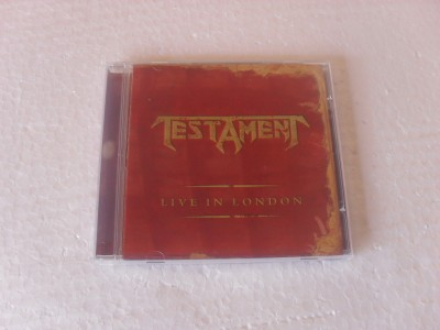 TESTAMENT - LIVE IN LONDON (CD)