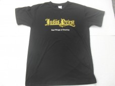 JUDAS PRIEST - SAD WINGS OF DESTINY LOGOTIPO (CAMISETA)