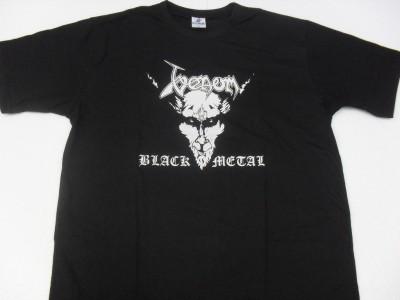 Venom - Black Metal  (Camiseta)