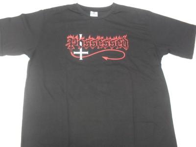 Possessed - Logotipo Seven Churches  (Camiseta)