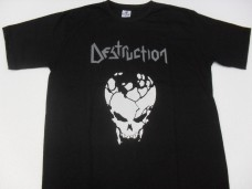 Destruction - Logotipo / Crânio Infernal Overkill (Camiseta)