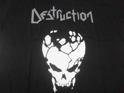 Destruction - Logotipo / Crânio Infernal Overkill (Camiseta)