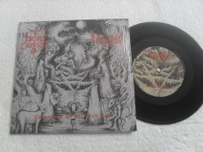 CATACUMBA / CAEDES CRUENTA - CONGREGATION OF THE BLACK GODS (COMPACTO 7'')