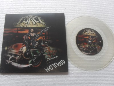 HIRAX - LA BOCA DE LA BESTIA/THE FORCE - WASTELAND - SPLIT (COMPACTO 7'')