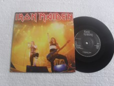 IRON MAIDEN - RUNNING FREE LIVE (COMPACTO 7'')