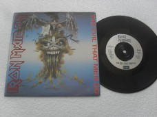 IRON MAIDEN - THE EVIL THAT MEN DO (COMPACTO 7'')