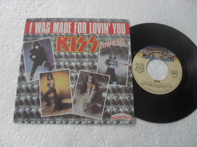 KISS - I WAS MADE TO LOVIN YOU (COMPACTO 7'')