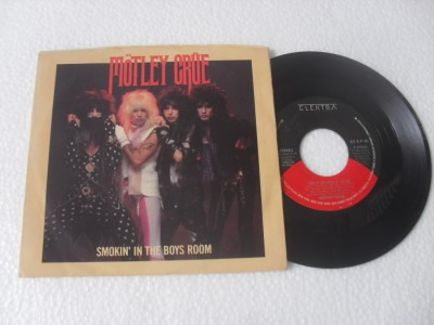 MÖTLEY CRUE - SMOKIN' IN THE BOYS ROOM (COMPACTO 7'')