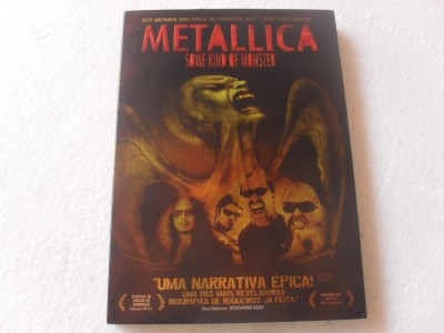 METALLICA  - SOME KIND OF MONSTER - DUPLO (DVD)