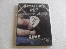 METALLICA - THE BIG 4 - DUPLO (DVD)