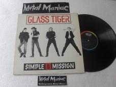 GLASS TIGER - SIMPLE MISSION (VINIL)