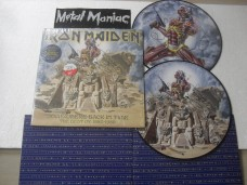 IRON MAIDEN - SOMEWHERE BACK IN TIME - PICTURE DUPLO (VINIL)