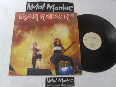 IRON MAIDEN - RUNNING FREE LIVE - ARGENTINO - SINGLE RARO (VINIL)