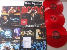 AC/DC - LIVE AT RIVER PLATE - TRIPLO (VINIL)