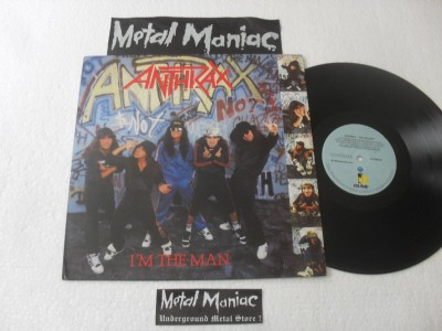 ANTHRAX - I'M THE MAN (VINIL)