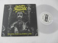 KING DIAMOND - THE KING OVER CALIFORNIA 1986 (VINIL)