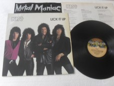 KISS - LICK IT UP (VINIL)