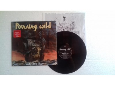 RUNNING WILD - UNDER JOLLY ROGER (VINIL)