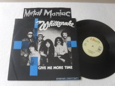 WHITESNAKE - GIVE ME MORE TIME - SINGLE (VINIL)