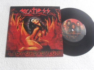 DEATH SS - LADY OF BABYLON (COMPACTO 7'')