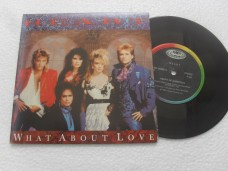 HEART - WHAT ABOUT LOVE (COMPACTO 7'')