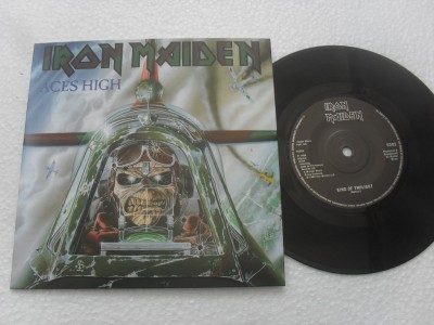IRON MAIDEN - ACES HIGH (COMPACTO 7'')