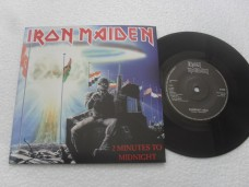 IRON MAIDEN - 2 MINUTES TO MIDNIGHT (COMPACTO 7'')