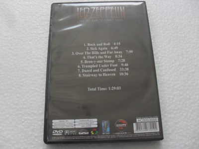 LED ZEPPELIN - LIVE AT EARL'S COURT 1975 - (DVD)